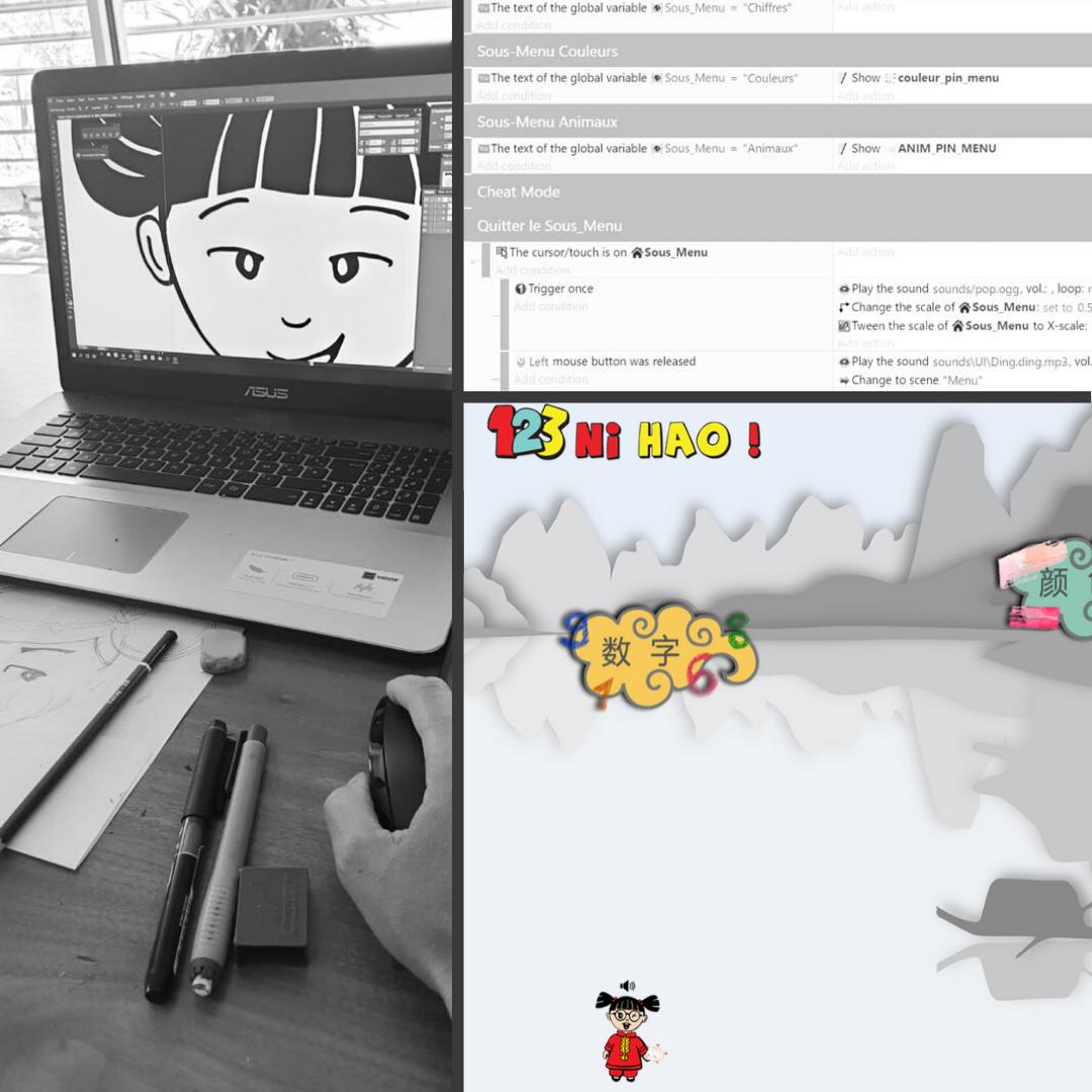 developppement des jeux en ligne par 1 2 3 ni hao